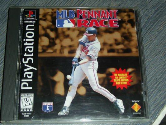 FREE SHIPPING MLB Pennant Race Baseball(Playstation)