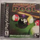 FREE SHIPPING American Pool (Playstation)