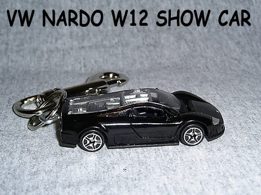 VW NARDO W12 CAR  KEYCHAIN & SWIVEL CLIP (FREE SHIPPING)