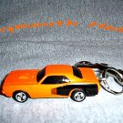 PLYMOUTH HEMI CAR   KEYCHAIN & SWIVEL CLIP (FREE SHIPPING)