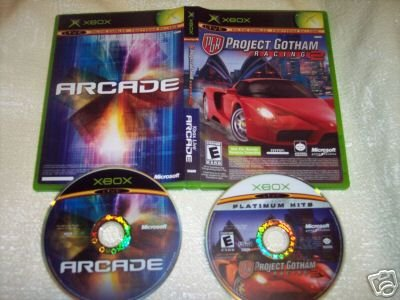Project Gotham Racing & Arcade Live (Xbox) FREE SHIPPING
