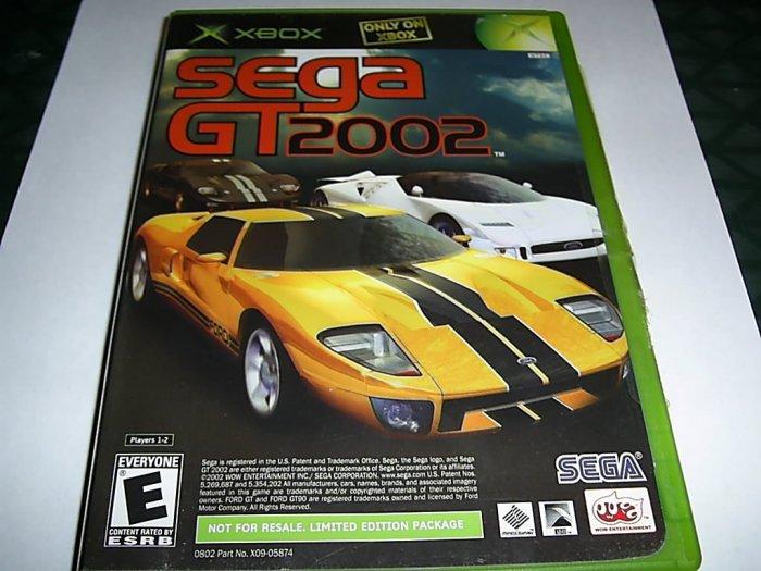 Sega GT 2002 (Xbox) FREE SHIPPING