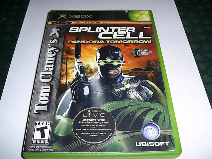 Tom Clancy's Splinter Cell (Xbox) FREE SHIPPING