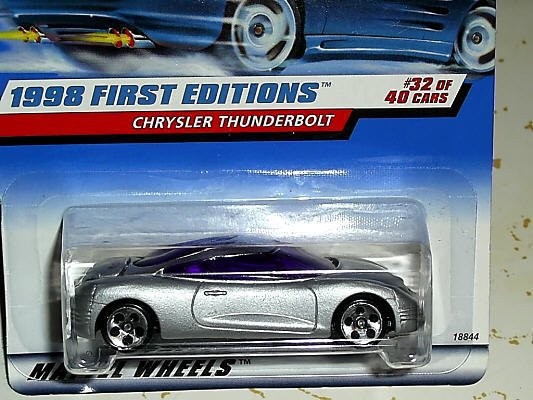 Chrysler Thunderbolt (1998 First Edition) FREE SHIPPING