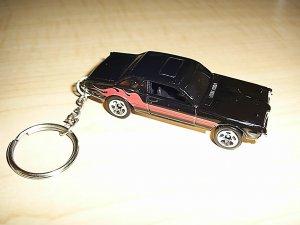 1968 Cougar Car Keychain (FREE SHIPPING)