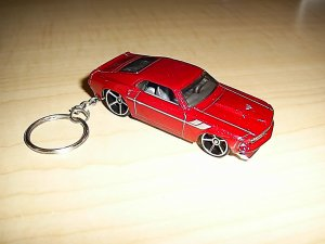 1969 Ford Mustang Car Keychain (FREE SHIPPING)
