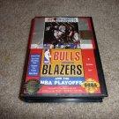 Bulls Versus Blazers (Sega Genesis Game) FREE SHIPPING