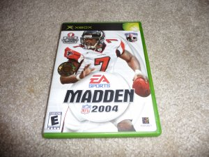 Madden 2004 (xbox Game) FREE SHIPPING