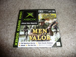Demo Disk #35 (Xbox System) Men Of Valor FREE SHIPPING