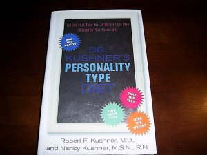 (FREE SHIPPING) Dr. Kushner's Personality Type Diet Book