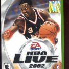 NBA live 2002 Baskeball Xbox (FREE SHIPPING)
