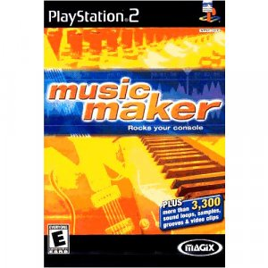 Magix Music Maker Sony Playstation 2 (FREE SHIPPING)