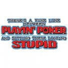 Funny Texas Holdem Poker T Shirt Tee Sizes Medium, Large, Xl, 2xl Style#14