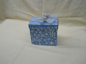 CST Peppermint Soap Snowflake Box Two Bars