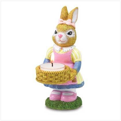 Bunny Baker Figurine