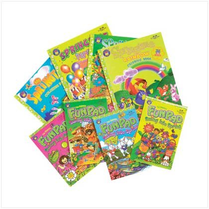 Springtime Activity Book Value Pack
