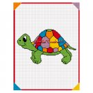 Chella Crochet Turtle of Many Colors Afghan Crochet Pattern Graph Emailed