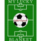 CHELLA*CROCHET MY LUCKY SOCCER BLANKET AFGHAN CROCHET PATTERN GRAPH EMAILED .PDF