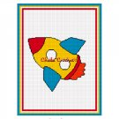 CHELLA*CROCHET Rocket Space Ship Spaceship Afghan Crochet Pattern Graph EMAILED .PDF