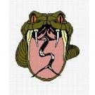 CHELLA*CROCHET Afghan Pattern Graph Snake Asp Fangs Serpent .PDF