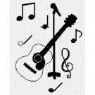 Chella Crochet Sale See Shop Guitar Acoustic Microphone Afghan Crochet Pattern Graph Emailed