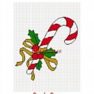 Christmas Candy Cane Afghan Crochet Pattern Graph