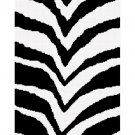 Zebra Animal Print Stripes Afghan Crochet Pattern Graph