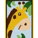 Chella Crochet ZOO Jungle Safari Baby Giraffe Afghan Crochet Pattern Graph