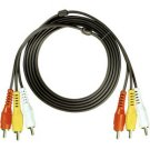 12' Composite Video and Stereo Audio Cable