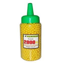 2000 Yellow BB's w/Speed Bottle