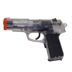 8 in Clear Semi/Fully Automatic Pistol