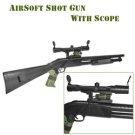 Shotgun Style AirSoft Gun