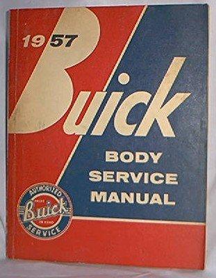 1957 BUICK BODY SERVICE MANUAL GM FSM