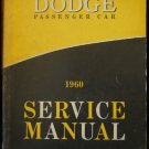 1960 Dodge Factory Service Manual  FSM VERY RARE ORIGINAL