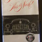 1949 Nash Ambassador Owners - Glove Box Manual