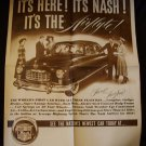 1949 Nash Sales Handout - Double Sided Double Sized Page