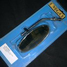 MIRROR EMGO 20-34830 Metal Harley Stem Left or Right
