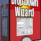 Drop Down Wizard Menu Creator Software