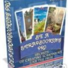 Learn to be a SCRAPBOOKING PRO Scrapbook Ebook