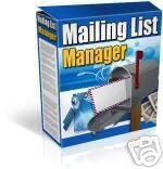 Mailing List Manager Email Script Software 4 php mysql
