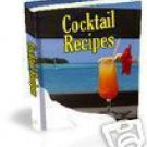 The Best COCKTAIL RECIPE eBooks In The World...EVER