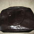 Estee Lauder Faux Alligator Handbag