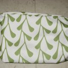 Clinique White Green Floral Travel Bag