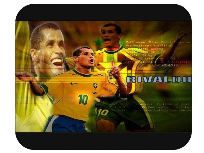 Rivaldo (Brazil) Mouse Pad