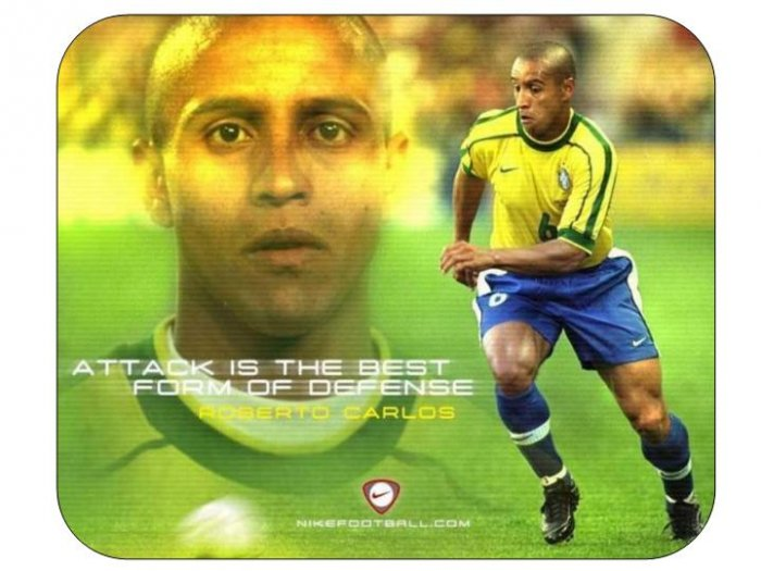 Roberto Carlos (Brazil) Mouse Pad