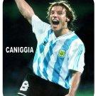 Claudio Caniggia (Argentina) Mouse Pad
