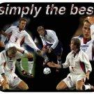 David Beckham #1 (England) Mouse Pad