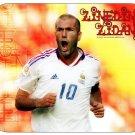 Zinedine Zidane (France) Mouse Pad