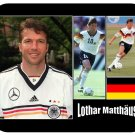 Lothar Matthaus (Germany) Mouse Pad