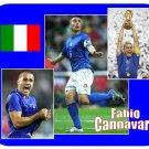 Fabio Cannavaro #1 (Italy) Mouse Pad